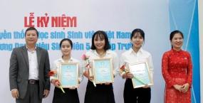 Kỉ niệm 69 năm ngày truyền thống HSSV Việt Nam: Vinh danh 106 cá nhân và 3 tập thể xuất sắc