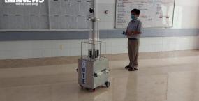 Trường Đại học Sư phạm Kỹ thuật - Đại học Đà Nẵng: Chế tạo thành công Robot diệt 99% virus bằng tia cực tím