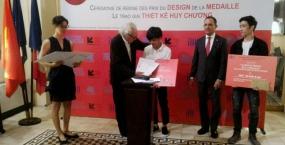 Sinh viên Ngô Thành Đạo & Hồ Ngọc Sơn - ngành Kiến trúc, đạt giải Nhất và Nhì cuộc thi