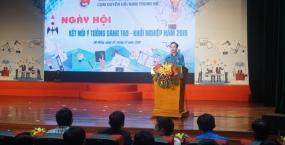 Sinh viên Đại học Sư phạm Kỹ thuật với ngày hội kết nối ý tưởng sáng tạo khởi nghiệp cụm duyên hải Nam Trung Bộ