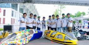 Sinh viên Khoa Cơ khí Giao thông tham dự cuộc thi Lái xe sinh thái - tiết kiệm nhiên liệu Shell Eco Marathon Asia 2019