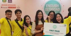 Khẳng định học hiệu hàng đầu, sinh viên Trường Đại học Ngoại ngữ - Đại học Đà Nẵng đạt giải Nhất Chung kết Toàn quốc Olympic Tiếng Anh chuyên (E4US) năm 2018