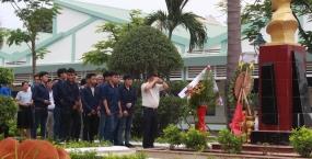 Dâng hương và tri ân anh hùng liệt sĩ Nguyễn Văn Trỗi - Hoạt động ý nghĩa của tuổi trẻ Đại học Sư phạm kỹ thuật 2018
