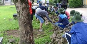 Mùa hè xanh 2017 – Lòng nhiệt huyết của tuổi trẻ Bách khoa Đà Nẵng trong những ngày đầu tiên của chiến dịch