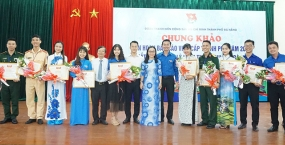 Sinh viên Đại học Đà Nẵng đạt giải cao Liên hoan Báo cáo viên trẻ xuất sắc thành phố năm 2019
