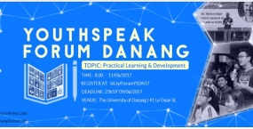 YOUTHSPEAK FORUM DANANG 2017