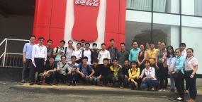 Sinh viên ĐHĐN tham quan thực tế nhà máy Coca – Cola Việt Nam