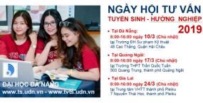 Đại học Đà Nẵng tổ chức chuỗi Ngày hội tư vấn tuyển sinh – hướng nghiệp 2019 cho các bạn học sinh tại Đà Nẵng và các tỉnh miền Trung – Tây Nguyên