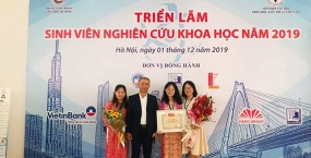 Sinh viên Đại học Đà Nẵng đạt thành tích cao trong Giải thưởng Sinh viên nghiên cứu khoa học Toàn quốc năm 2019