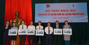 Đại học Đà Nẵng đăng cai tổ chức hội thảo khoa học quốc gia đầu tiên dành cho cán bộ trẻ Đại học quốc gia, Đại học vùng mở rộng
