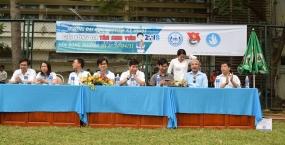 Tưng bừng khai mạc Giải Bóng đá Tân Sinh viên 2018 trường Đại học Sư phạm Kỹ thuật - Đại học Đà Nẵng