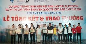 Sinh viên Đại học Đà Nẵng đạt thành tích xuất sắc tại Kỳ thi Olympic Tin học Quốc gia và Lập trình quốc tế ICPC năm 2020