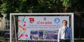 Tuổi trẻ Trường Đại học Ngoại ngữ - Đại học Đà Nẵng chung tay xây dựng nông thôn mới và đô thị văn minh