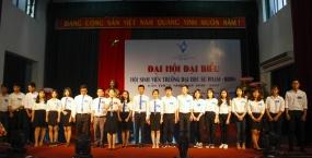 Đại hội đại biểu Hội sinh viên trường Đại học Sư phạm khóa V, nhiệm kỳ 2018-2021.