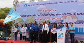 Đà Nẵng: Hơn 800 sinh viên hăng hái xuất quân lên đường tình nguyện
