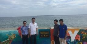 Bức bích họa dài 300m và tình cảm của tuổi trẻ Đại học Đà Nẵng với biển đảo Tổ quốc.