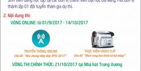 """Tổ chức cuộc thi """"APEC Youth Challenges 2017""""  Chủ đề: Sinh viên Đại học Đà Nẵng với APEC 2017"""