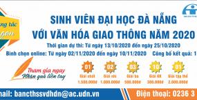 """Kế hoạch Tổ chức cuộc thi sáng tác slogan """"Sinh viên Đại học Đà Nẵng với văn hóa giao thông năm 2020"""""""