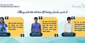 Sinh viên Kinh tế tự tin vươn ra thế giới
