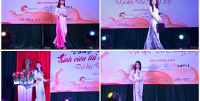 Các thí sinh sẽ tranh tài tại vòng Chung kết Hội thi Sinh viên Tài năng Thanh lịch Đại học Đà Nẵng 2017
