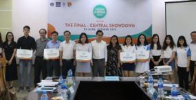 Sinh viên Trường Đại học Ngoại ngữ - Đại học Đà Nẵng đạt giải Nhất Chung kết Olympic Tiếng Anh chuyên khu vực miền Trung năm 2018