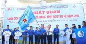 Lễ ra quân chiến dịch học sinh, sinh viên Đại học Đà Nẵng tình nguyện hè năm 2017