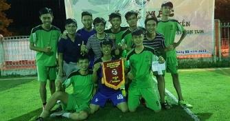 Phân Hiệu ĐH Đà Nẵng tại Kon Tum: Lễ bế mạc và trao giải giải bóng đá bóng chuyền sinh viên Phân hiệu năm học 2016 - 2017