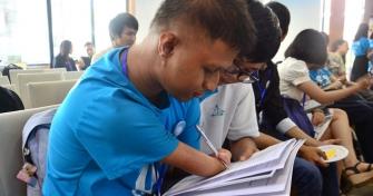 Dj Ruêng trong một lần tham gia dự án cộng đồng