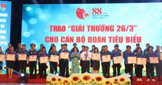 Kỷ niệm 88 năm ngày thành lập Đoàn: Sức bật lan tỏa từ những hạt nhân cán bộ Đoàn - Trí thức trẻ