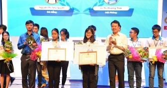 Chung kết Hội thi Olympic tiếng Anh sinh viên toàn quốc 2017: 02 Sinh viên Đại học Đà Nẵng đạt giải Nhì và giải Ba