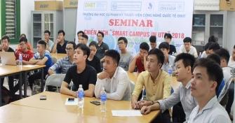 """Workshop về Chiến dịch """"Smart Campus in UTE 2018"""" tại Trường Đại học Sư phạm Kỹ thuật, Đại học Đà Nẵng"""