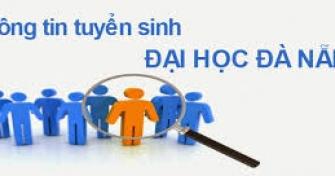 Thông tin đăng ký xét tuyển vào Đại học Đà Nẵng trình độ đại học hệ chính quy năm 2017 (cập nhật ngày 03/4/2017)