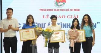 Dự án kết nối kiến tạo văn hóa giao thông của sinh viên Đại học Đà Nẵng được trao giải Top 10