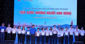 """Hội Sinh viên Đại học Đà Nẵng tham gia Hành trình """"Sinh viên với biển đảo Tổ quốc"""" tại Côn Đảo"""