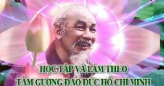 TƯ TƯỞNG HỒ CHÍ MINH VỀ PHONG CÁCH NÊU GƯƠNG