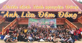 Sinh viên Đại học Đà Nẵng chào Xuân mới với những tấm lòng thiện nguyện, làm việc tốt vì cộng đồng