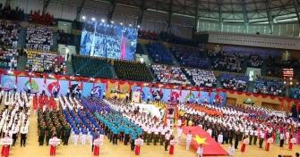 Toàn cảnh Lễ khai mạc Đại hội TDTT Thành phố Đà Nẵng lần thứ VIII năm 2018