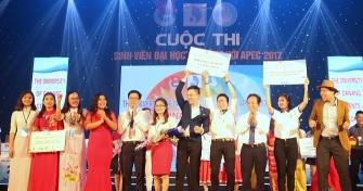 Sinh viên Đại học Đà Nẵng hòa chung nhịp đập APEC 2017