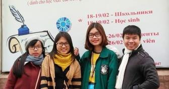2 sinh viên Trường Đại học Ngoại ngữ - Đại học Đà Nẵng đạt giải Nhất Olympic tiếng Nga 2017