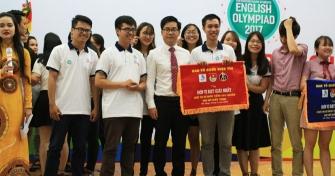 Sinh viên Trường Đại học Ngoại ngữ - Đại học Đà Nẵng giành giải Nhất tại Chung kết Khu vực Miền Trung Olympic Tiếng Anh chuyên toàn quốc 2017