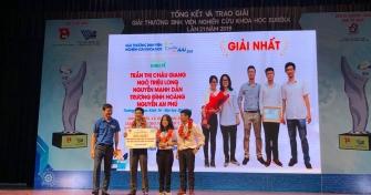 Những thành tích xuất sắc của sinh viên thiết thực chào mừng 25 năm xây dựng và phát triển Đại học Đà Nẵng
