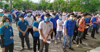 Tuổi trẻ Đại học Sư phạm Kỹ thuật sôi nổi ra quân Ngày Chủ Nhật Xanh