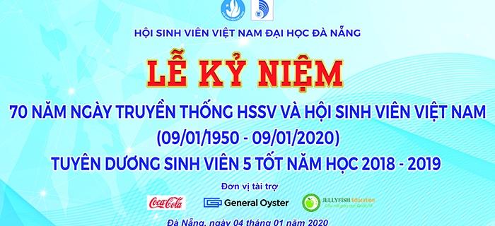 Lễ kỷ niệm 10 năm truyền thống HSSV và Hội SVVN, tuyên dương sinh viên 5 tốt năm học 2018-2019