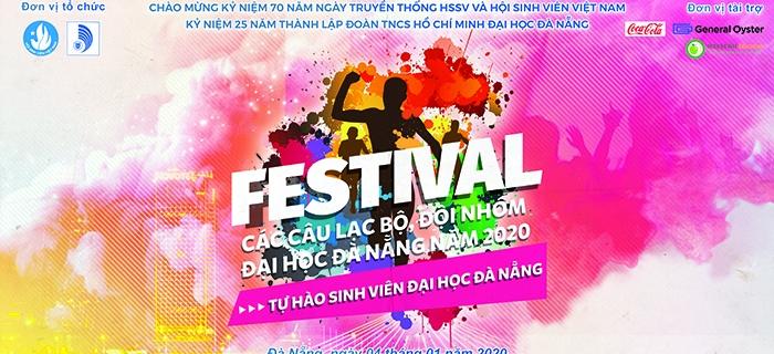 Festival các CLB, Đội, Nhóm Đại học Đà Nẵng năm 2020