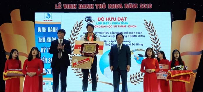 Đại học Đà Nẵng tổ chức Lễ Vinh danh Thủ khoa năm 2018